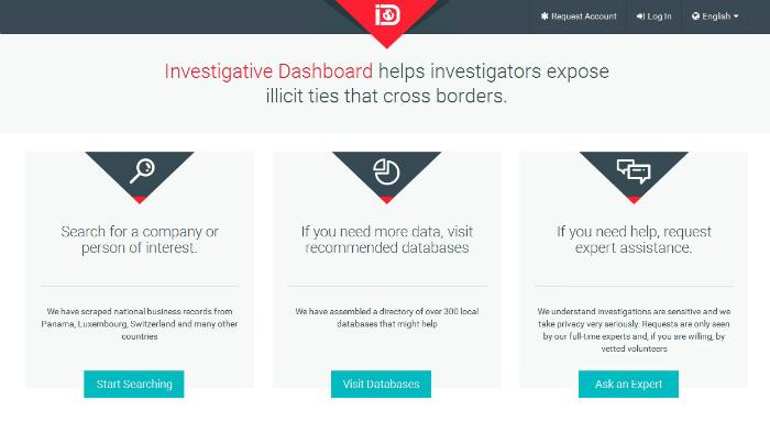 https://investigativedashboard.org/